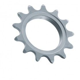 Miche Single Speed Sprocket 1/8 inch17 teeth with thread matt chromed