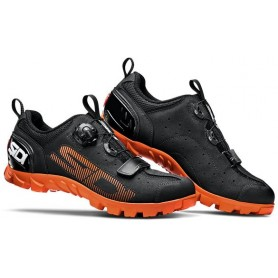 SIDI Bike shoes MTB SD15 size 44 black orange