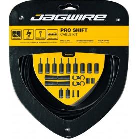JAGWIRE Derailleur cable set 2X Pro Shift Road & Mountain SRAM / Shimano black