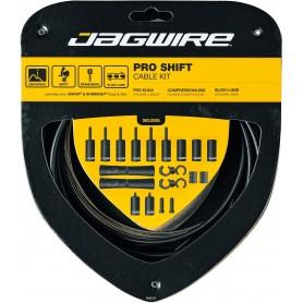 JAGWIRE Derailleur cable set 2X Pro Shift Road & Mountain SRAM / Shimano Stealth Black