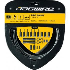 JAGWIRE Schaltzugset 2X Pro Shift Road & Mountain grau