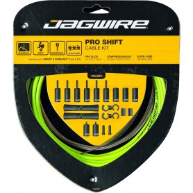 JAGWIRE Derailleur cable set 2X Pro Shift Road & Mountain green