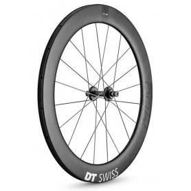 DT Swiss Wheel TRC 1400 Classic 65mm 622x18 120mm bolt on Tubular black