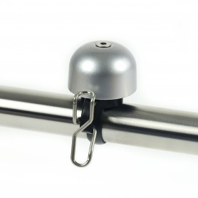 "Point Widek Glocke ""Paperclip""Mini, silber"