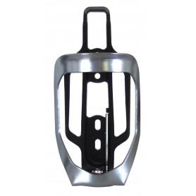 Point Universal-Trinkflaschenhalter, silber-glanz/schwarz, OEM