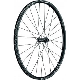 DT Swiss E1900 Rear wheel 622-30 28 hole Spline DB Alu black CL 148/12mm
