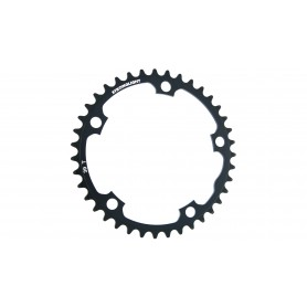 Chainring Stronglight Type 130 S internal 39 teeth, black 9/10-speed