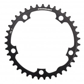 Chainring Stronglight Type 130 S internal 38 teeth, black 9/10-speed