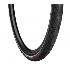 Vredestein PERFECT XTREME bicycle tyre 28 inch 37-622 wired reflective strips black