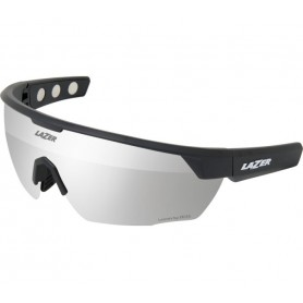 Lazer Sports glasses M3 matte black glass smoke silver with replacement glasses