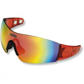 Lazer Sports glasses M1-S Magneto crystal red glass smoke red