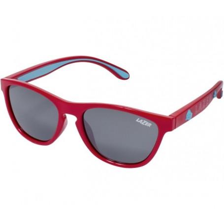 Lazer Kids sun glasses Blub gloss red glass grey silver