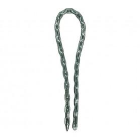 Master Lock steel chain vinyl-coated 8mm x 100cm