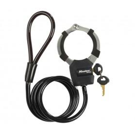Master Lock Hand cuff lock Street Cuff 8275 black 100cm x 8mm