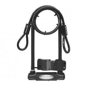 Master Lock U-lock 8285LW with bracket+ cable black
