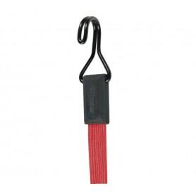 Master Lock Spanngummi Smooth Doppelhaken 60 cm Rot