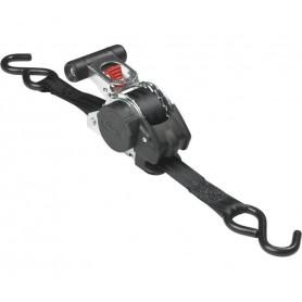 Master Lock Spanngurt 3238 mit Ratsche 2 Stück 3,00 m Schwarz