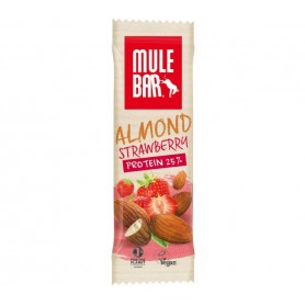 MuleBar ReFuel Almond Strawberry pack of 15 bars each 42 g