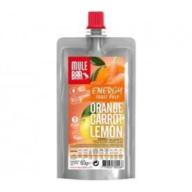 MuleBar Fruit Pulp Orange Carrot Lemon 10er Pack je 65 g
