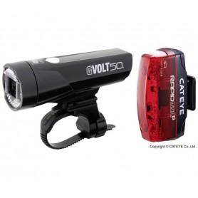 Cateye Beleuchtungskit GVolt 50 + Rapid Micro G set
