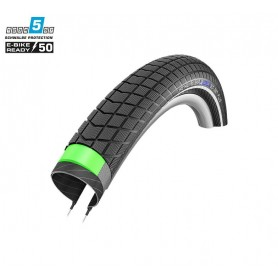 Schwalbe Big Ben Plus bicycle tyre 50-622 GG E-50 SnakeSkin wired reflective