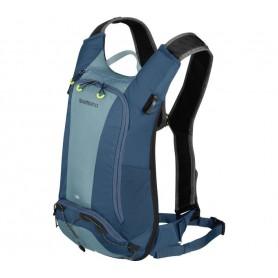 Shimano Rucksack Unzen Trail 6 Liter + 2L Trinkblase aegean blue