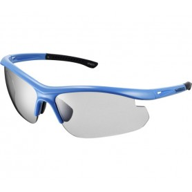 Shimano Bike glasses Solstice -PH Lightning Blue glass grey photochromic