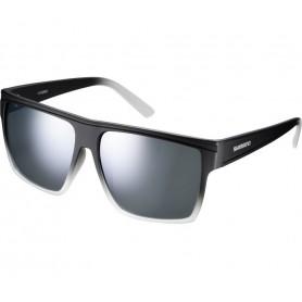 Shimano Sun glasses Square Midnight glass smoke silver mirrored