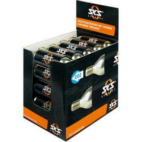 SKS Cartridge-Display, 25 pcs. Threaded + Cold Protection