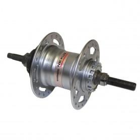 Shimano Gear hub NEXUS 3-gear SG-3R40, 36 hole, 127 mm, silver