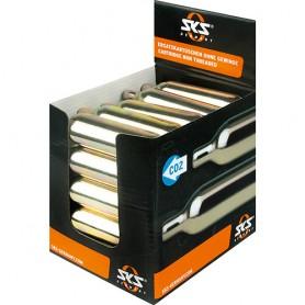 SKS Kartuschen-Display 25 Stück ohne Gewinde ohne Kälteschutz