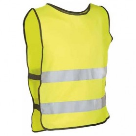 Safety Vest -M/L- yellow, 2 strips