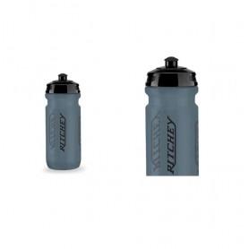 Ritchey Wasserflasche 0,5 Ltr., transparent/blue