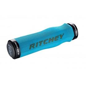 Ritchey WCS Ergo Trugrip Lock-On Griff, 129/33.0mm, blue