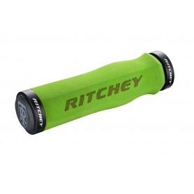 Ritchey WCS Ergo Trugrip Lock-On Griff, 129/33.0mm, green