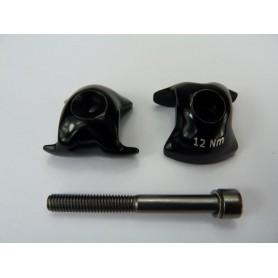 Ritchey WCS 1-bolt Ersatzklemme, 7x7mm Streben, Carbon Stütze