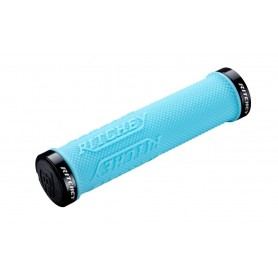 Ritchey WCS Truegrip X Lock-On Griff, 135/30.0mm, sky blue