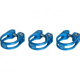 PRO Sattelstützenklemmschelle Performance 34,9 mm blau