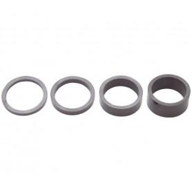 PRO Spacer set UD Carbon 1 1/4 inch (31,75 mm)