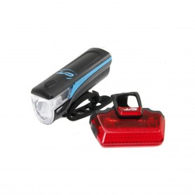 CONTEC Akku-LED-Leuchtenset Speed-LED USB neonblau