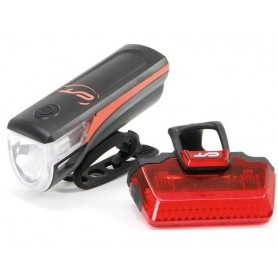 CONTEC Battery-LED light set Speed-LED USB neon red
