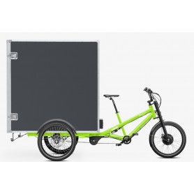 Radkutsche Cargo bike Musketier E-Bike, platform: Muskebox