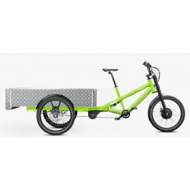 Radkutsche Lastenrad Musketier E-Bike Pedelec, Aufbau: Pritsche 150