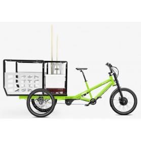 Radkutsche Lastenrad Musketier E-Bike Pedelec, Aufbau: Caretaker