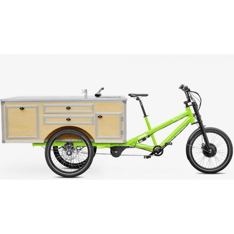 radkutsche lastenrad musketier e bike pedelec aufbau gastro. Black Bedroom Furniture Sets. Home Design Ideas