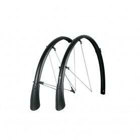 SKS Bluemels Matt black wheel guard Mudguard SET 27.5-28 inch B35, 45, 53