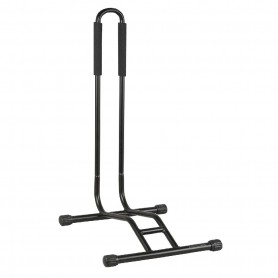 """Absolut presentation stand EASYSTAND """"PLUS"""", black for 12 - 29 inch Bikes with tire width 2.5 - 3.25 inch"""