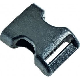 Burley Buckle for seat backrest rear female 25.4mm black Sopo