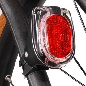 Taillight SECULA E, with cert~ B+M, black, for E-Bike, Mudguard