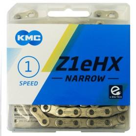 KMC Chain Z1eHX Narrow 112 Links silver Box